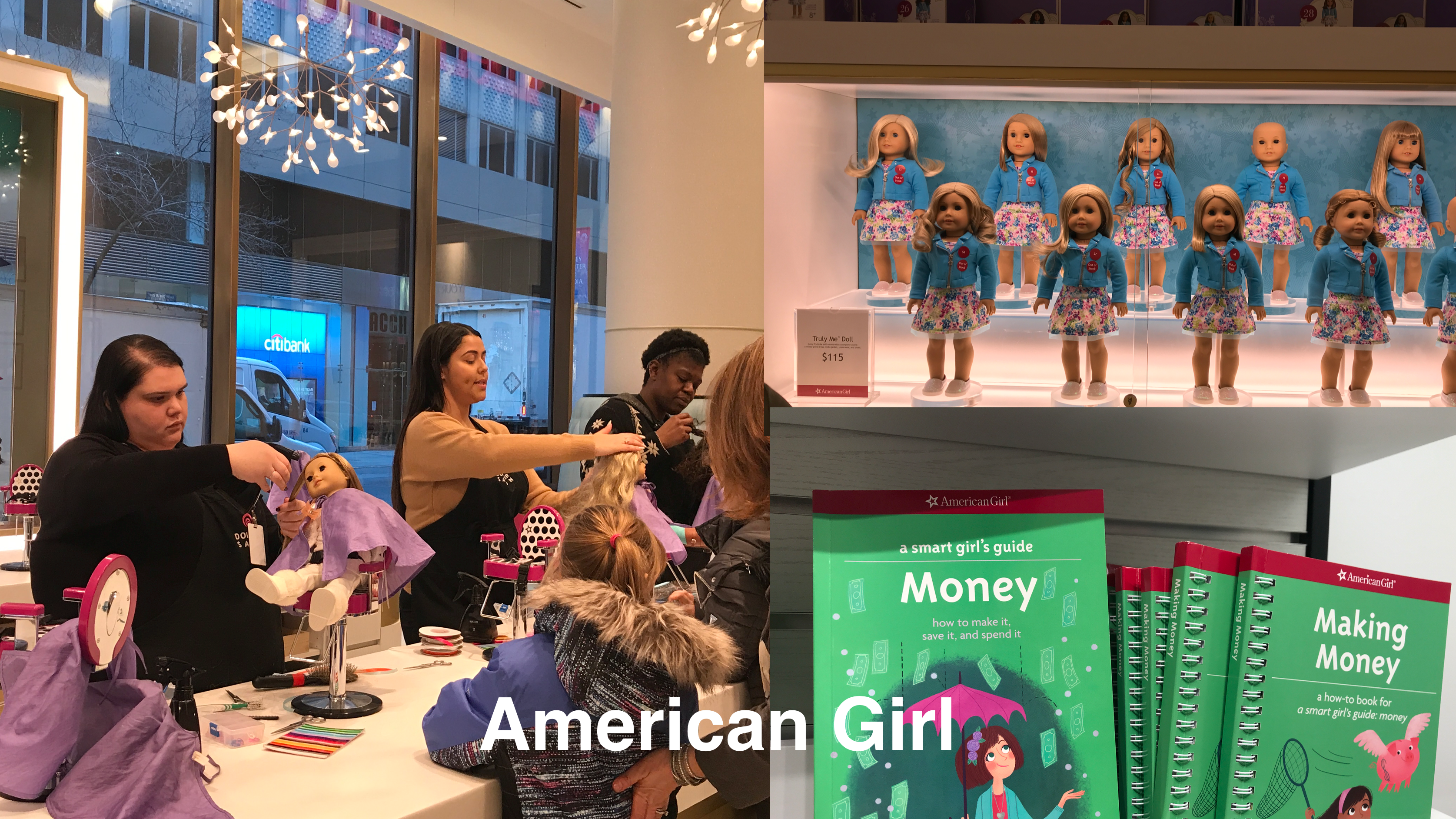 American Girl concept store