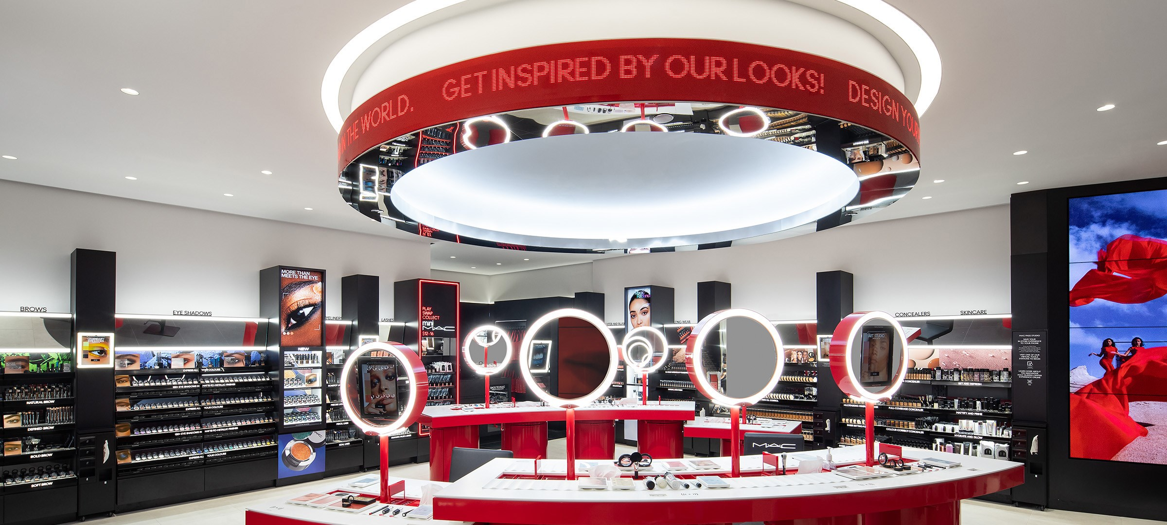 MAC Cosmetics' NYC Concept Store Signals 'New Age' for Beauty