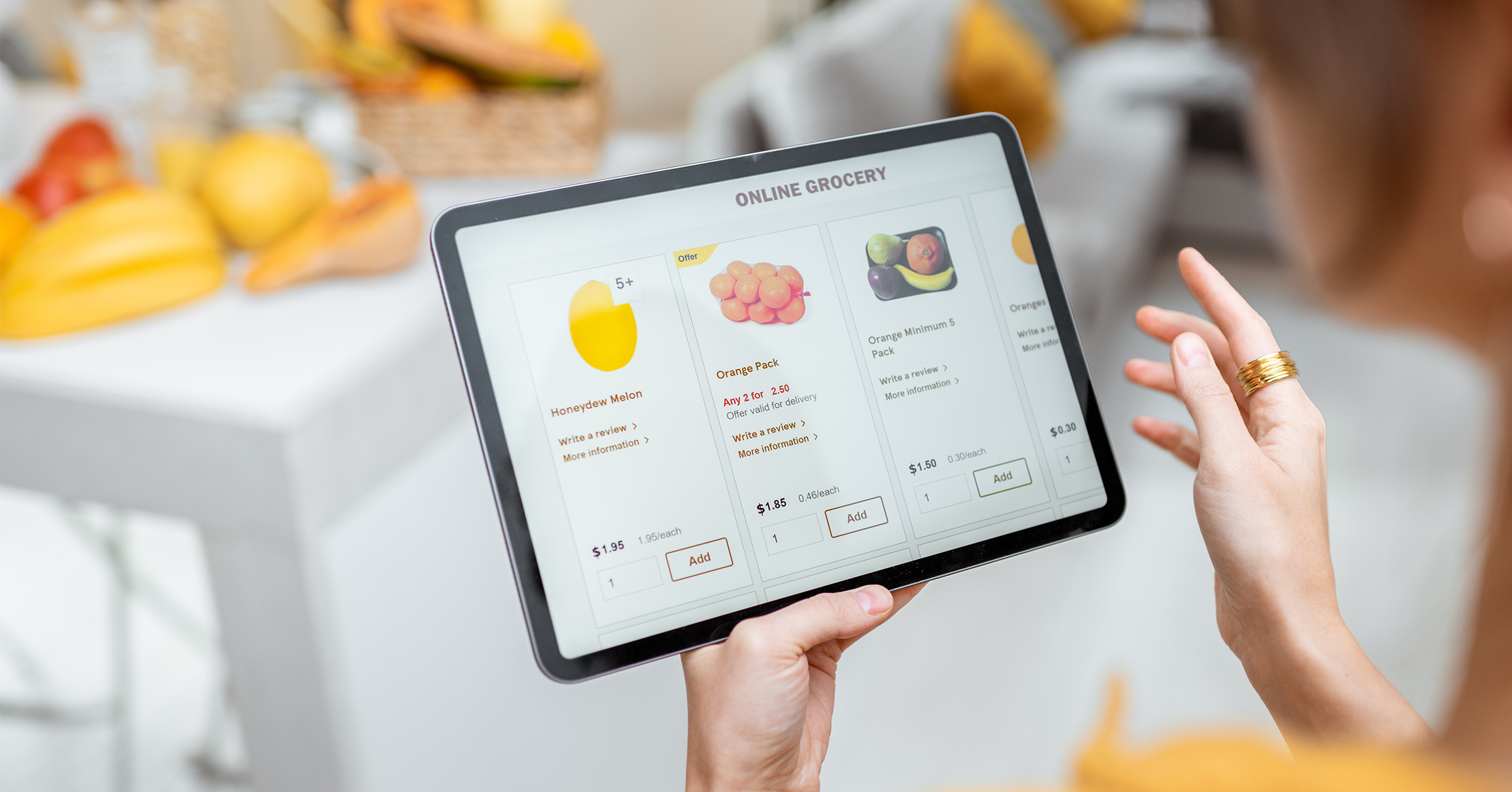 Universal Lessons From Online Grocery Shopping