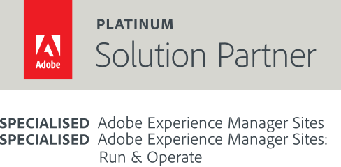 adobe platinum solution partner badge