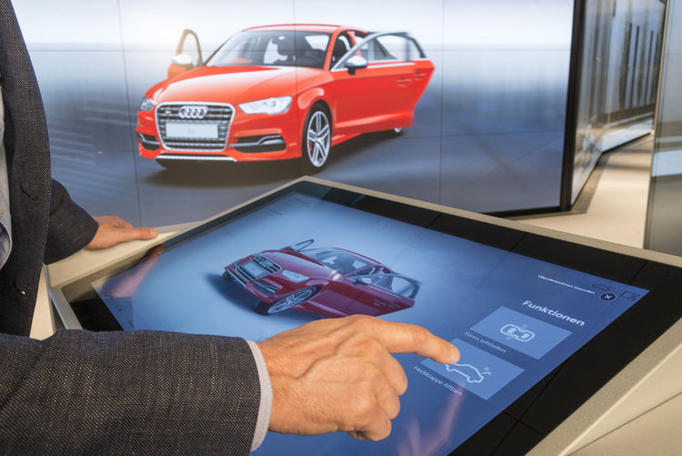 Audi Digital Retail Modules